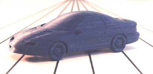Chevy Camaro model made by Offset Fabbing